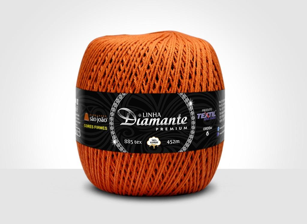 Barbantes para tricô e crochê Linha Diamante Premium Terra
