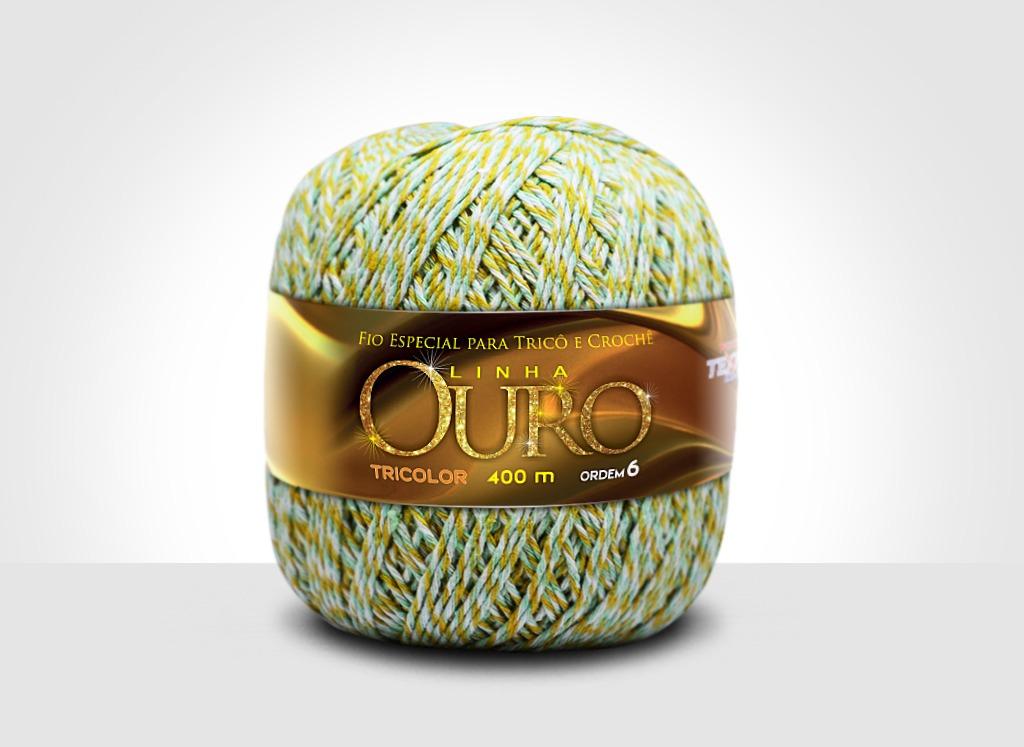 Linhas para tricô e crochê Linha Ouro 80401